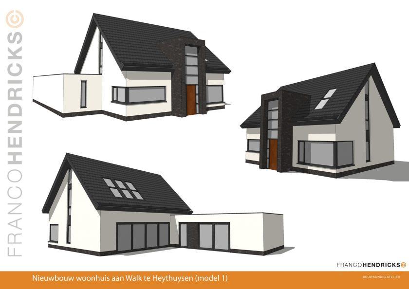 Nieuw ontwerp woonhuis te Heythuysen